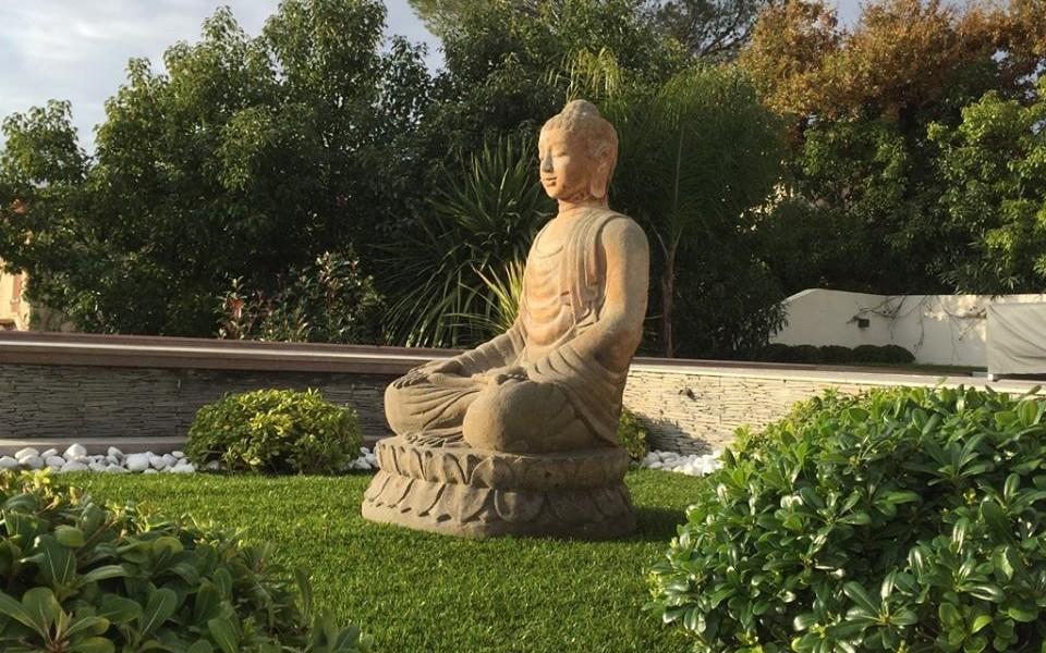 Mise en place du bouddha saint aygulf frejus